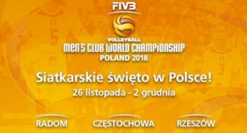Siatkówka, Siatkarskie gwiazdy przyjadą Radomia Klubowe Mistrzostwa Świata - zdjęcie, fotografia