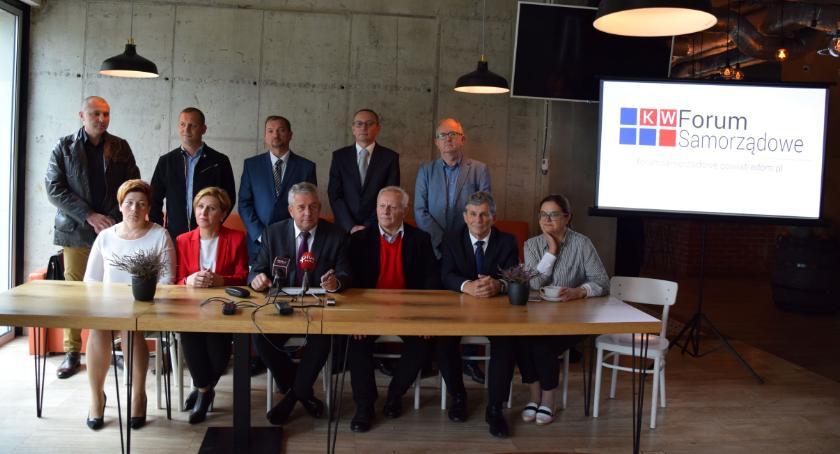 Powiat Radomski, Forum Samorządowe przedstawiło kandydatów Powiatu Radomskiego [FOTO] - zdjęcie, fotografia
