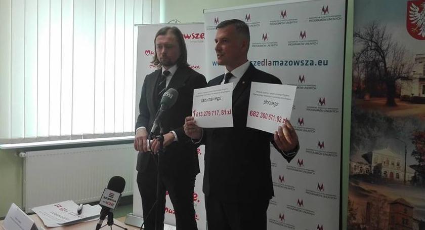 Informacje z Radomia i okolic , Rafał Rajkowski Radom otrzymuje więcej środków unijnych Płocka - zdjęcie, fotografia
