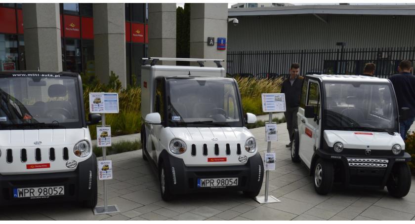 Informacje z Radomia i okolic , Radomscy listonosze przetestują elektryczne pojazdy - zdjęcie, fotografia