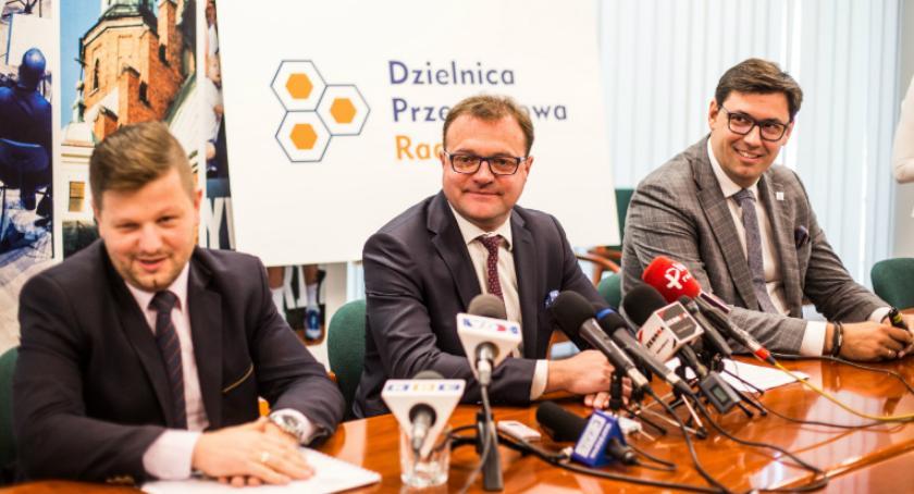 Ważne, Prezydent zapowiada powstanie Dzielnicy Przemysłowej - zdjęcie, fotografia
