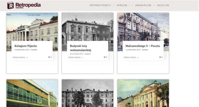 Informacje z Radomia i okolic , Powstała Retropedia Radomia - zdjęcie, fotografia