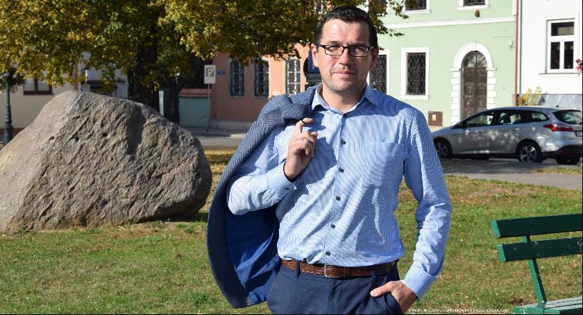 Wywiad, Łukasz Podlewski Radomiu ciągle dużo zrobienia! - zdjęcie, fotografia