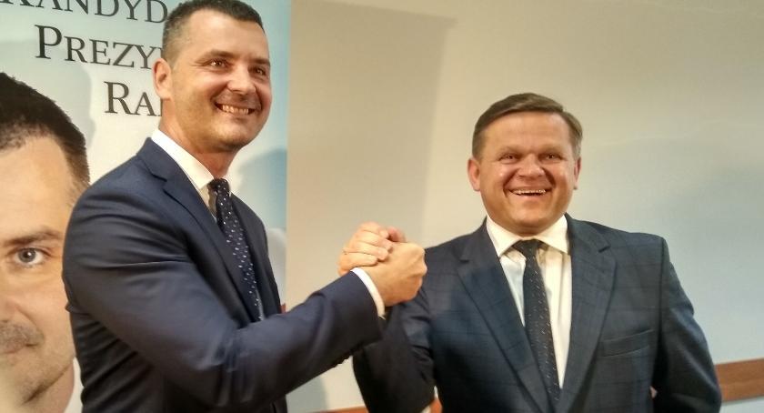 Ważne, Rafał Czajkowski Apeluję moich wyborców głosujcie Wojciecha Skurkiewicza [FOTO] - zdjęcie, fotografia