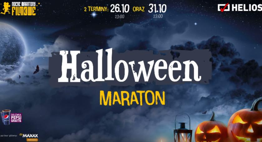 Konkurs, Nocny Maraton Filmowy Maraton Halloween kinie Helios Wygraj wejściówkę! [KONKURS] - zdjęcie, fotografia