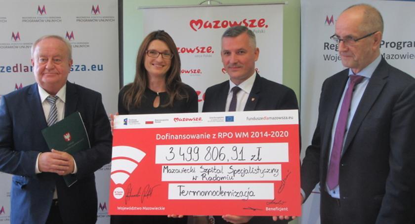 Inwestycje, Ponad wsparcia niskoemisyjność ochronę zdrowia subregionie radomskim - zdjęcie, fotografia