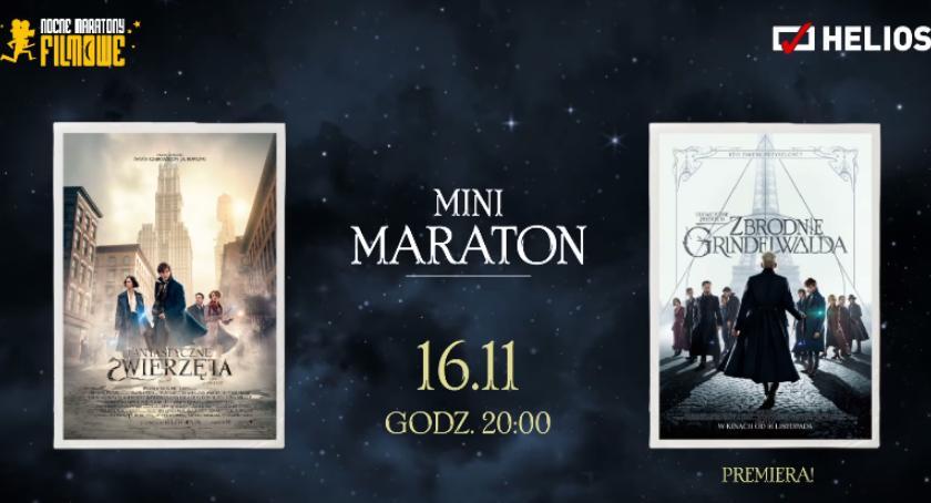 Konkurs, Maraton Fantastycznych Zwierząt kinie Helios Wygraj wejściówkę! [KONKURS] - zdjęcie, fotografia
