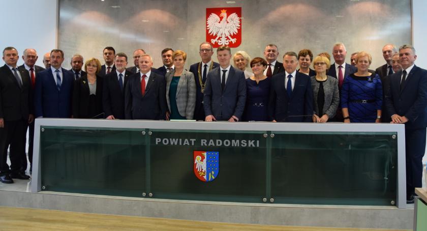 Powiat Radomski, przejęło rządy powiecie [FOTO] - zdjęcie, fotografia