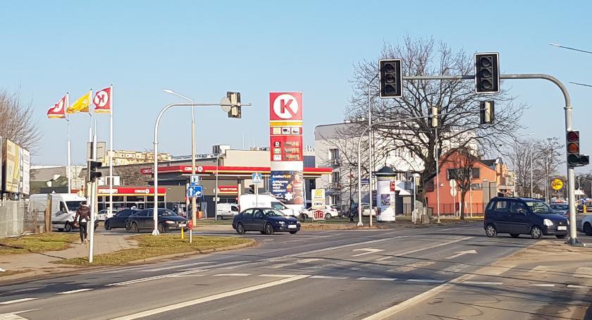 Ważne, Awaria świateł skrzyżywaniu Struga Zbrowskiego - zdjęcie, fotografia