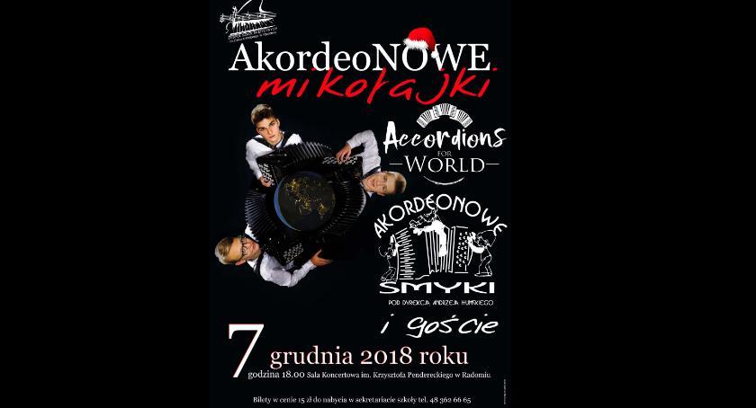 """Koncerty, """"AkordeoNOWE Mikołajki"""" Zespole Szkół Muzycznych - zdjęcie, fotografia"""