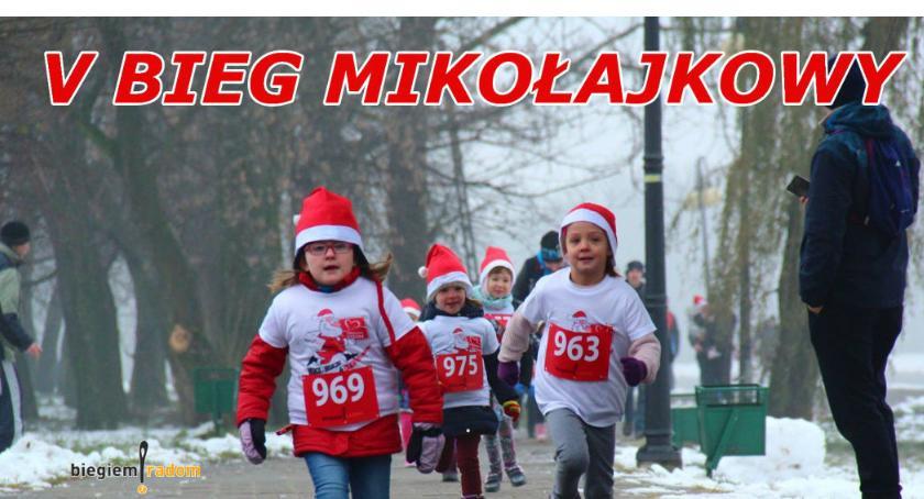 Sport - Inne, Mikołajkowy zalewem Borki - zdjęcie, fotografia
