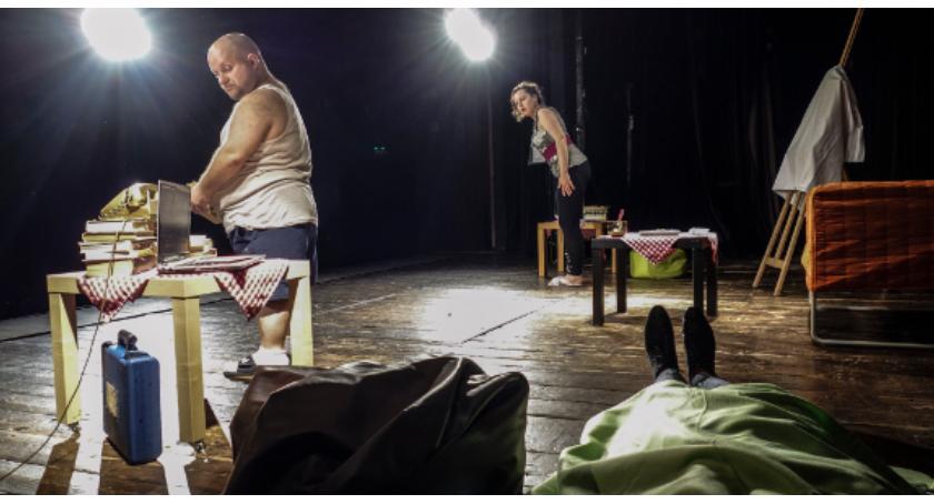 Teatr, Komedia sąsiedzka Amfiteatrze - zdjęcie, fotografia