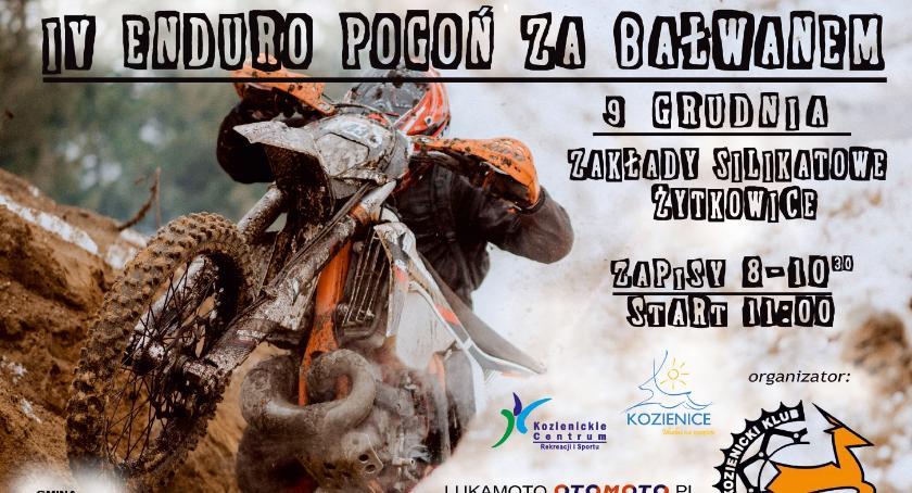 Inne, Enduro Pogoń Bałwanem - zdjęcie, fotografia