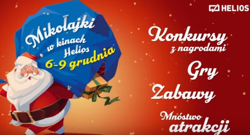 Konkurs, Mikołajki kinie Helios Wygraj wejściówkę! [KONKURS] - zdjęcie, fotografia