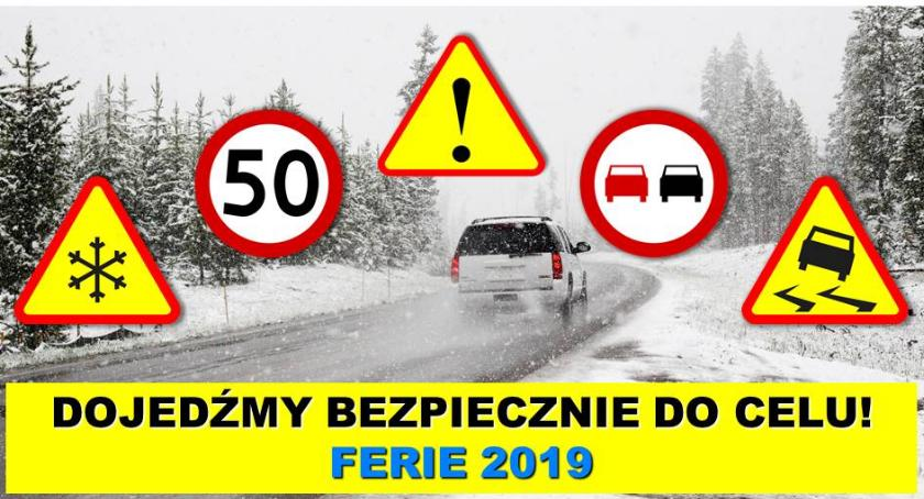 """Policja Radom/Policja Mazowiecka, Policyjna akcja informacyjna """"Dojedź(MY) bezpiecznie celu"""" - zdjęcie, fotografia"""