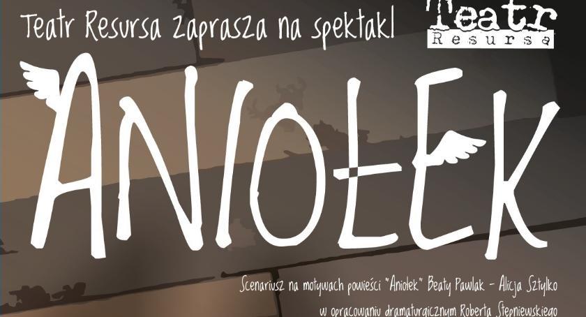 Teatr, Resursa Obywatelska zaprasza spektakl ANIOŁEK - zdjęcie, fotografia
