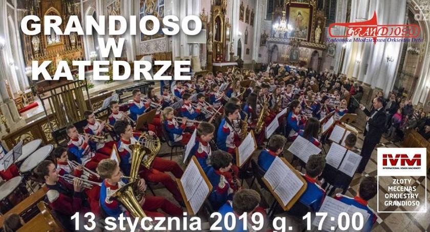 Koncerty, Orkiestra Grandioso wystąpi Katedrze - zdjęcie, fotografia