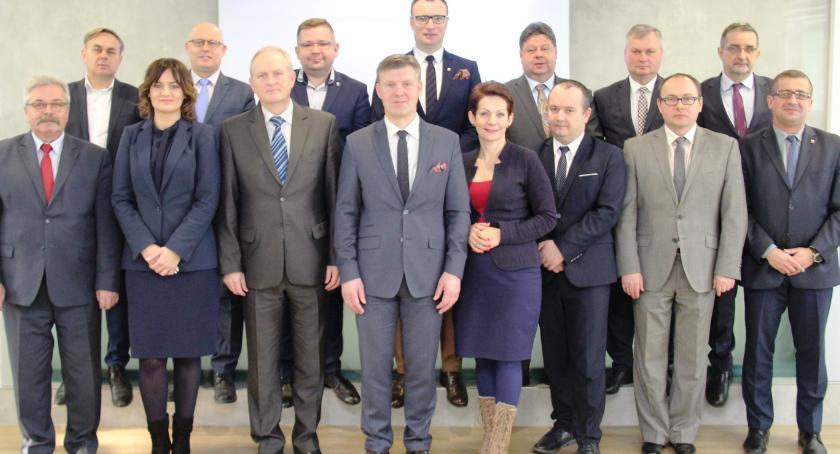 Powiat Radomski, Spotkanie wójtów burmistrzów starostą radomskim - zdjęcie, fotografia