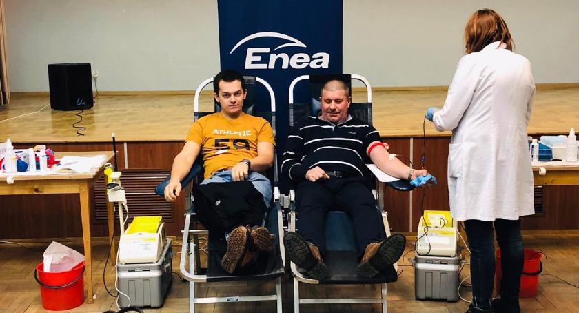 Informacje z Radomia i okolic , Kolejna akcja honorowego krwiodawstwa Elektrowni Kozienice [FOTO] - zdjęcie, fotografia