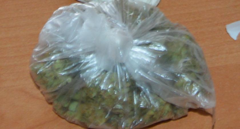 Kronika kryminalna, latek aresztowany posiadanie narkotyków - zdjęcie, fotografia
