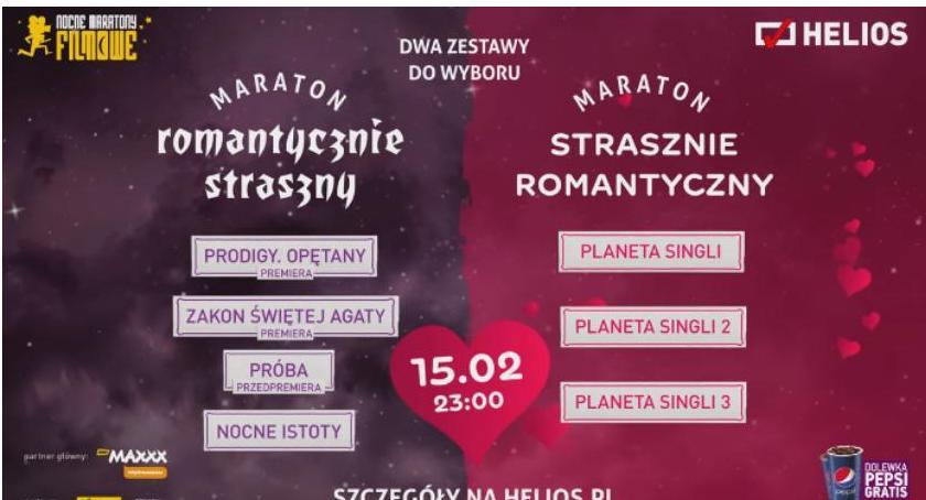 Konkurs, Maraton Walentynkowy kinie Helios Wygraj wejściówkę! [KONKURS] - zdjęcie, fotografia