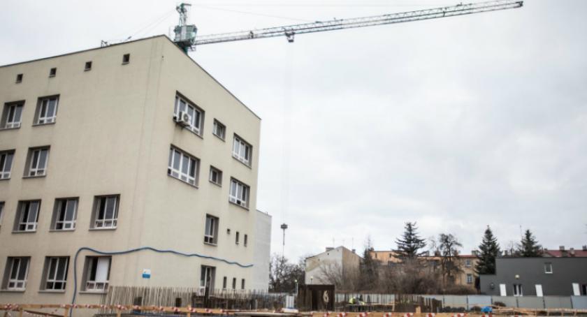 Służba zdrowia, budowa Centrum Rehabilitacji - zdjęcie, fotografia