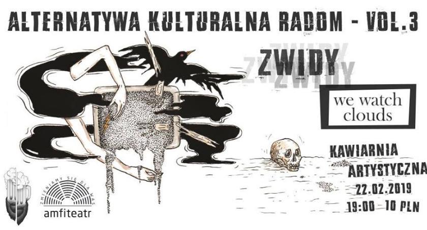 Rozrywka, Alternatywa Kulturalna Radom postpunk attack - zdjęcie, fotografia