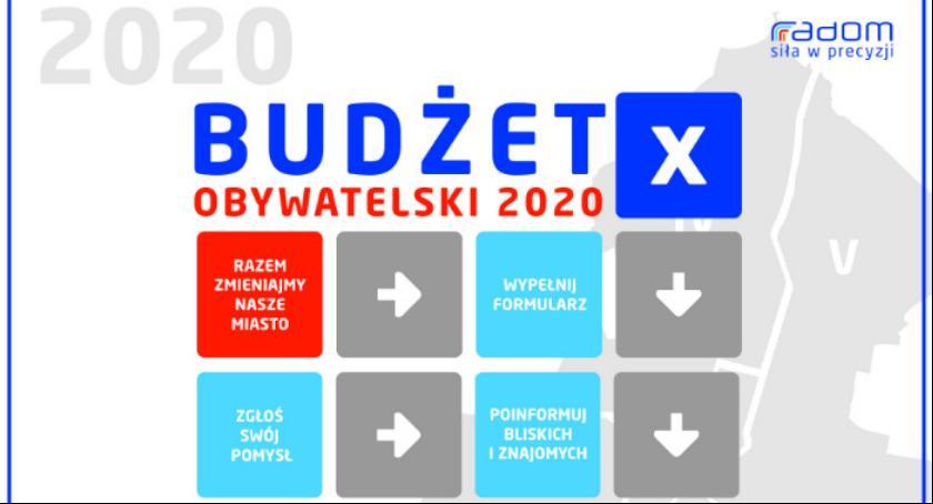 Informacje z Radomia i okolic , Przyjmowanie projektów Budżetu Obywatelskiego zostało wstrzymane - zdjęcie, fotografia