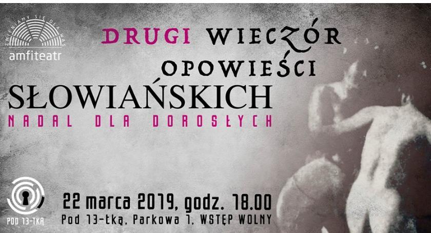 """Rozrywka, Drugi """"Wieczór opowieści słowiańskich"""" nadal dorosłych - zdjęcie, fotografia"""