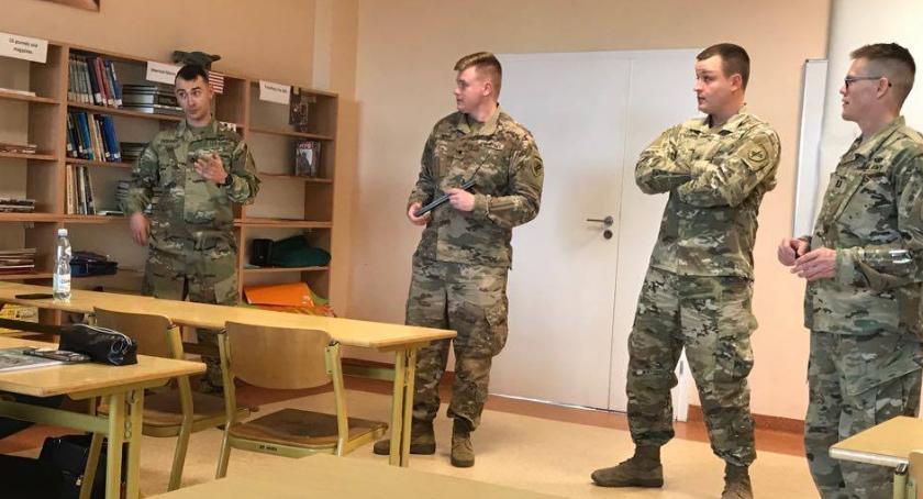 Informacje z Radomia i okolic , Amerykańscy żołnierze wizytą Radomiu [FOTO] - zdjęcie, fotografia
