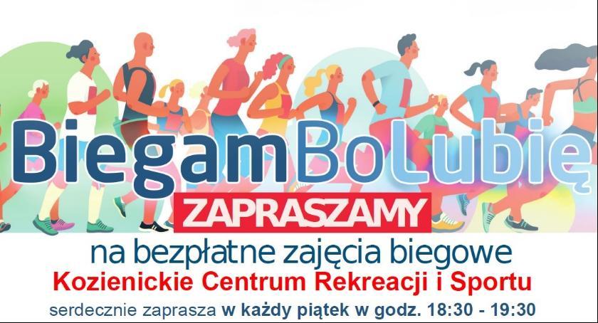 Sport - Inne, Biegam lubię Bezpłatne zajęcia biegowe Kozienickim Centrum Sportu Rekreacji - zdjęcie, fotografia