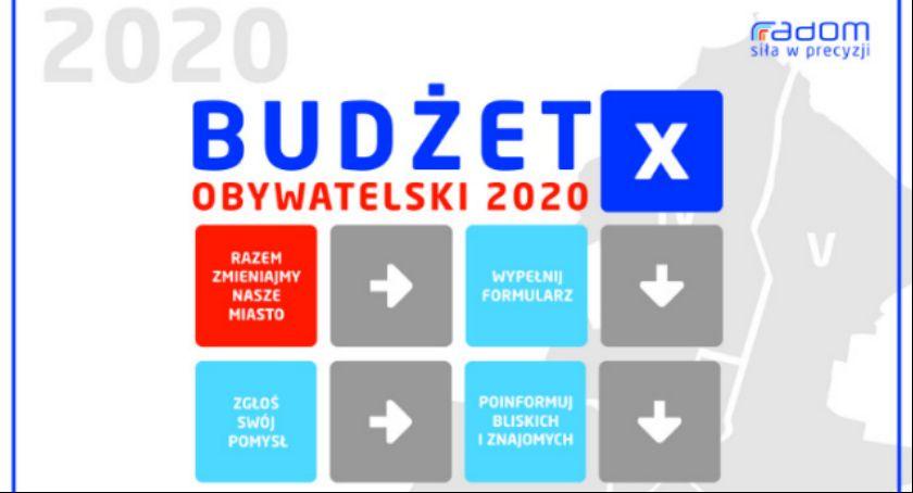 Informacje z Radomia i okolic , Budżet Obywatelski poniedziałku będzie można składać wnioski - zdjęcie, fotografia