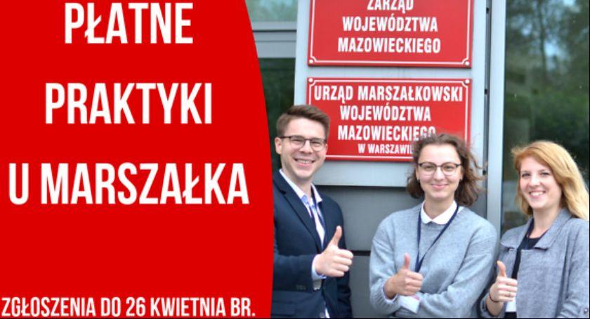 Informacje z Radomia i okolic , Praktyki Marszałka ruszył nabór wniosków - zdjęcie, fotografia
