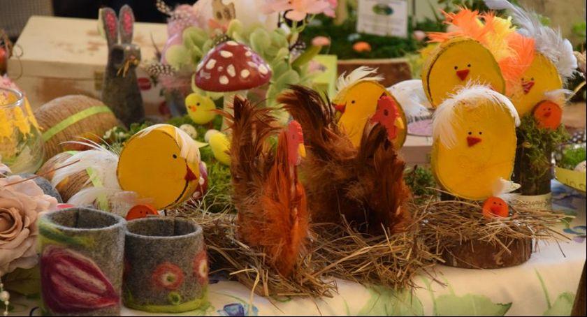 Wydarzenia, Wielkanocny Kiermasz Wyrobów Terapii Zajęciowej [FOTO] - zdjęcie, fotografia