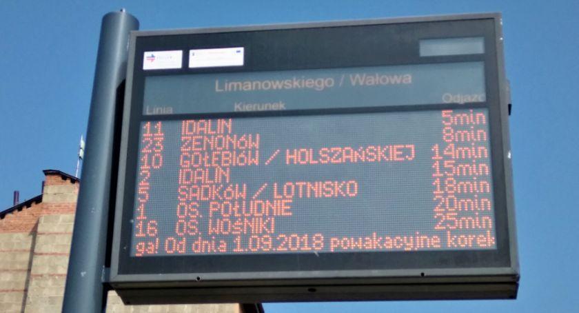 Komunikaty i ogłoszenia, Objazdy linii podczas Biegu Konstytucji - zdjęcie, fotografia