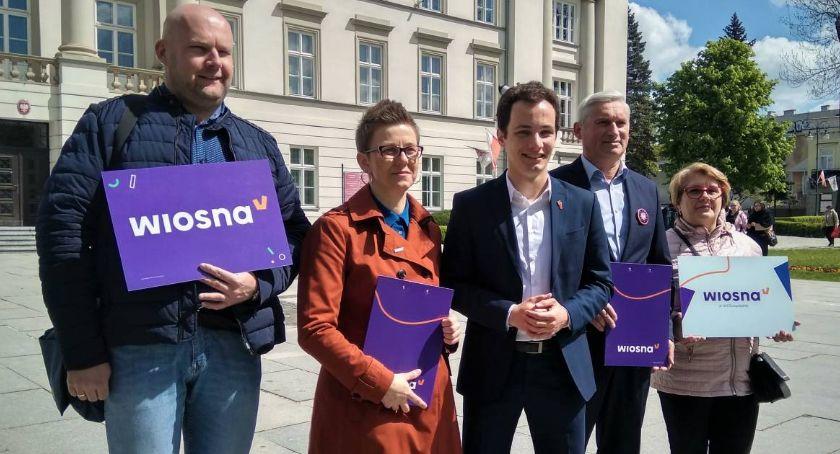 Polityka, Partia Wiosna Popieramy program Europy równych szans [FOTO] - zdjęcie, fotografia