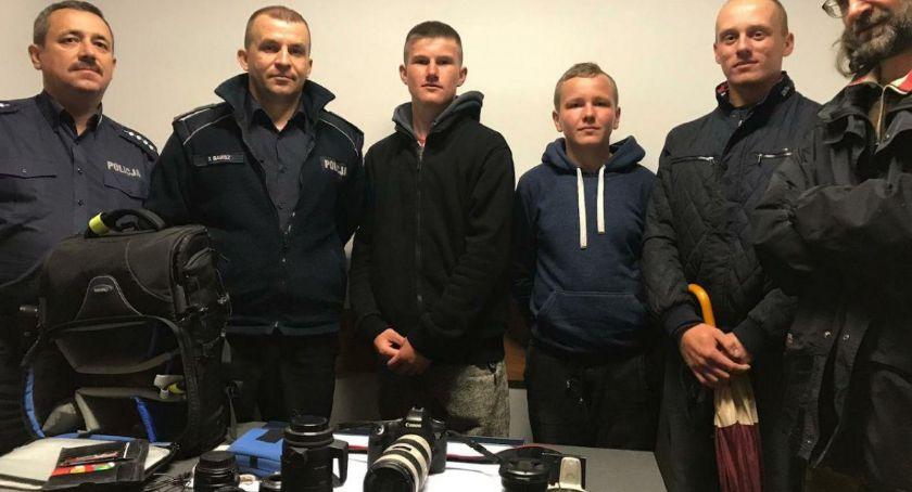 Kronika kryminalna, Dzięki postawie nastolatków cenny sprzęt wrócił właścicieli - zdjęcie, fotografia