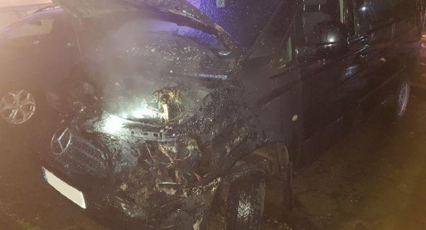Interwencja, Liczne pożary samochodów - zdjęcie, fotografia