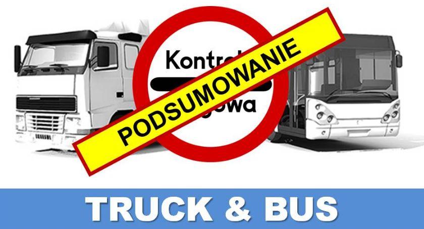 Policja Radom/Policja Mazowiecka, Policyjne działania TRUCK podsumowanie - zdjęcie, fotografia