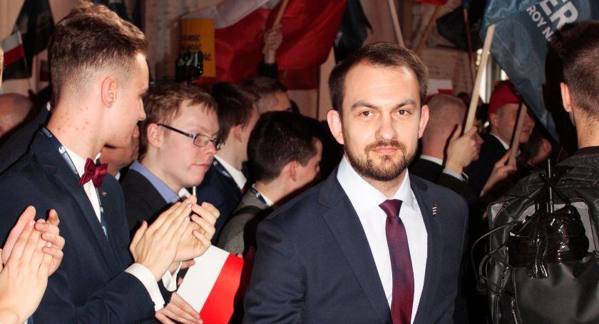 Wywiad, Idziemy żeby blokować niekorzystne Polski prawodawstwo rozmowa Markiem Szewczykiem kandydatem Europarlamentu liderem Ruchu Narodowego okręgu radomskim - zdjęcie, fotografia