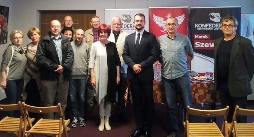 Polityka, Spotkania Konfederacji Lipsku Zwoleniu [FOTO] - zdjęcie, fotografia