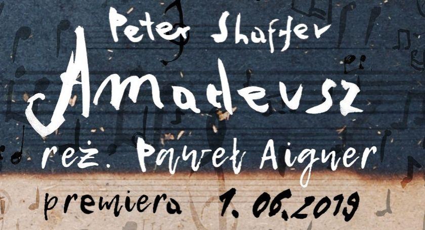 """Teatr, Premiera spektaklu """"Amadeusz"""" Teatrze Powszechnym Radomiu - zdjęcie, fotografia"""