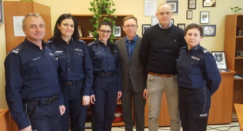 Policja Radom/Policja Mazowiecka, Wizyta niemieckich policjantów Mazowszu - zdjęcie, fotografia