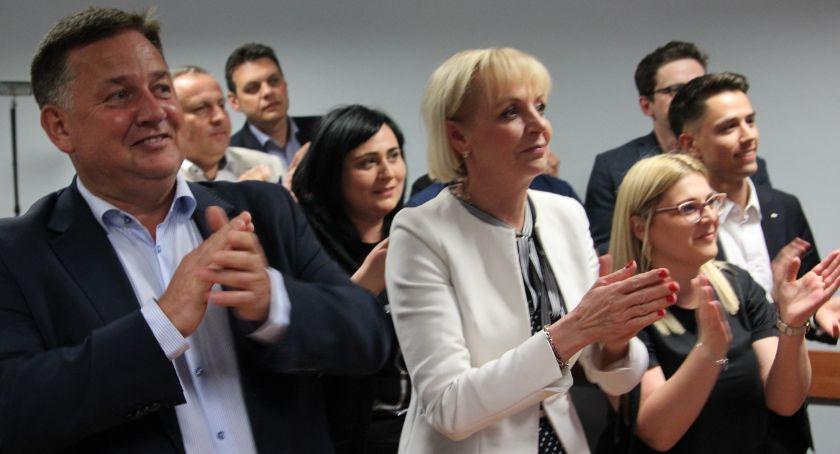 Polityka, Wybory Parlamentu Europejskiego Radość szeregach Prawa Sprawiedliwości [FOTO] - zdjęcie, fotografia