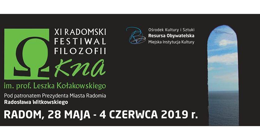 """Inne, Rusza Radomski Festiwal Filozofii """"OKNA"""" Leszka Kołakowskiego - zdjęcie, fotografia"""