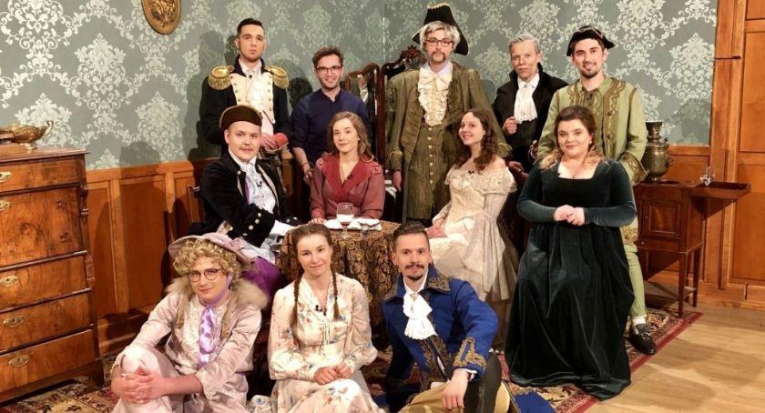 """Teatr, Sztuka """"Gwałtu! dzieje Radomiu - zdjęcie, fotografia"""