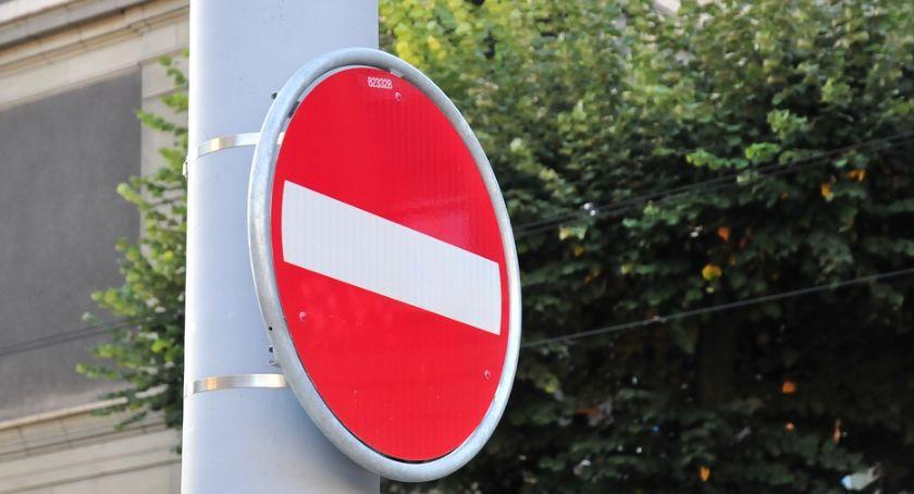Komunikacja Miejska , Zamknięcie ulicy Wróblewskiego - zdjęcie, fotografia