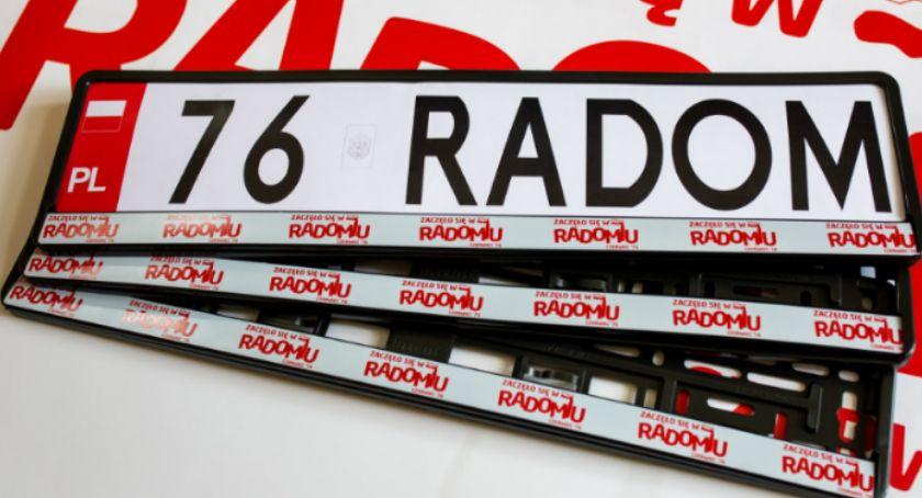 Informacje z Radomia i okolic , Niespodzianka rejestrujących samochód - zdjęcie, fotografia