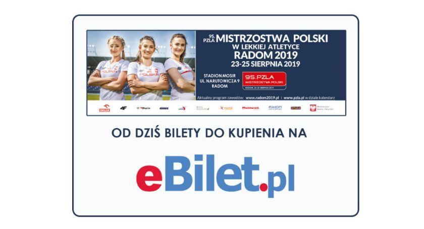 Sport - Inne, Rusza sprzedaż biletów Mistrzostwa Polski Lekkiej Atletyce - zdjęcie, fotografia