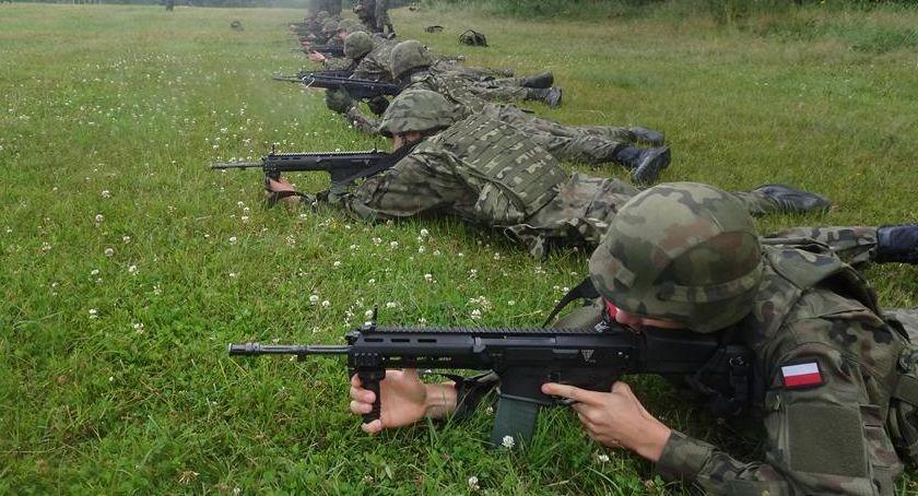 Informacje z Radomia i okolic , Radomscy Terytorialsi szkoleniu poligonowym [FOTO] - zdjęcie, fotografia
